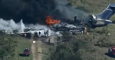 Samolot z 21 osobami rozbił się w Teksasie, wszyscy przeżyli