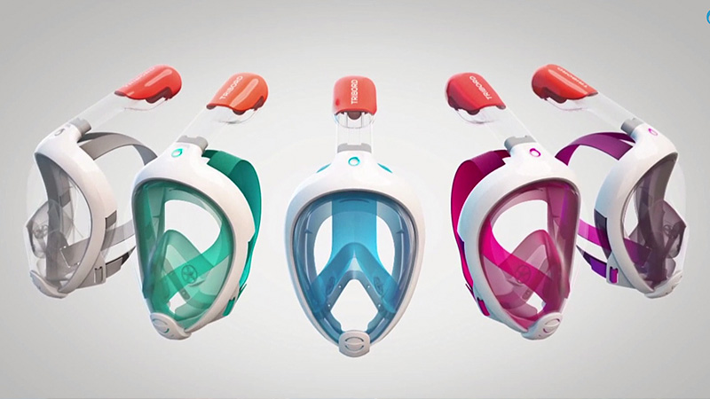 Snorkel Mask That Lets You Breath Normally 011