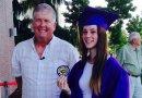 Wyniósł niemowlę z płonącego domu, 17 lat później uczestniczył w uroczystości ukończenia liceum