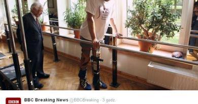 Polscy lekarze postawili sparaliżowanego mężczyznę na nogi