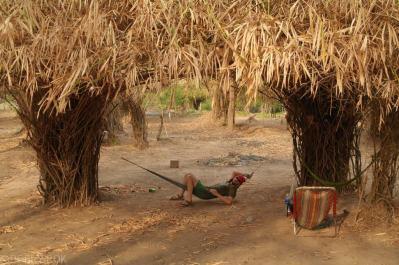Bambusowy hamak