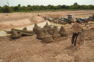 Kampong Khleang wioska na palach (1)