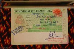 Kambodżańska wiza