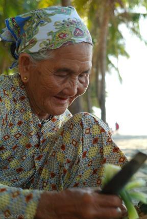 Ananas od wietnamskiej staruszki