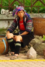 Gorskie plemiona zamieszkujace okolice Sapa Wietnam (13)