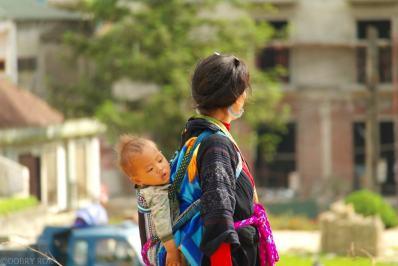 Gorskie plemiona zamieszkujace okolice Sapa Wietnam (14)