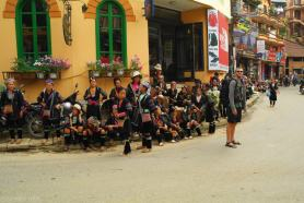Gorskie plemiona zamieszkujace okolice Sapa Wietnam (4)