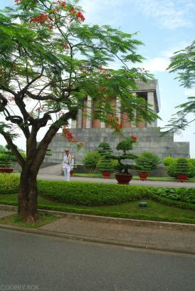 Mauzoleum Ho Chi Mina w Ha Noi