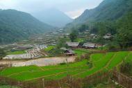 Tarasy ryzowe wokol Sapy Wietnam (1)