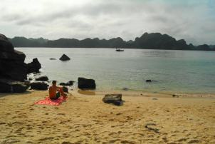 Widok z Monkey Island Ha Long Bay (2)