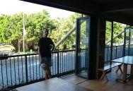Widok z naszego hostelu w Cairns (1)