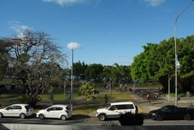 Widok z naszego hostelu w Cairns (2)