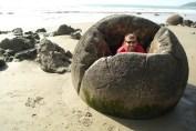 Wybrzeze Otago Moeraki Boulders (2)