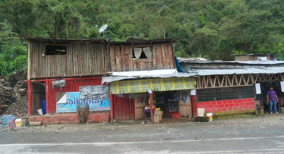 Droga na Machu Picchu przez Santa Teresa (1)
