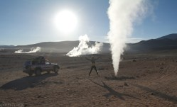 Gejzery na pustyni w Boliwii (1)