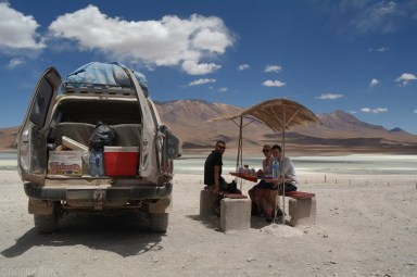 Laguna na pustyni w Boliwii (6)