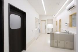 どうぶつの内科・皮膚科クリニックの処置室