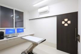 どうぶつの内科・皮膚科クリニックの第2診察室