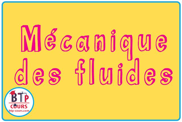 mecanique fluide
