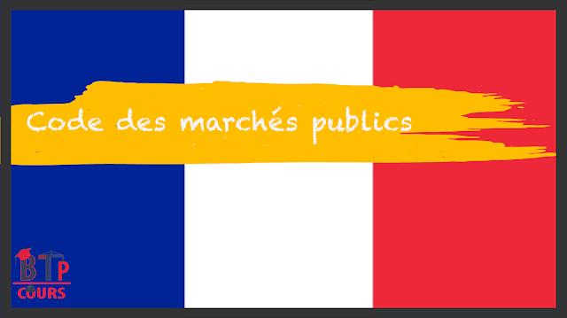 CODE MARCHÉ PUBLIC SUR BTP COURS.COM