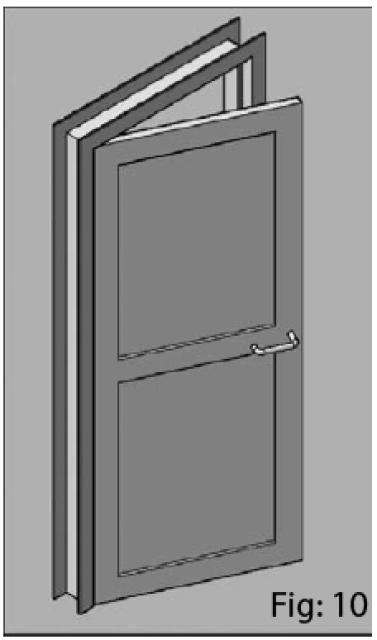 Création d'une porte en 3D