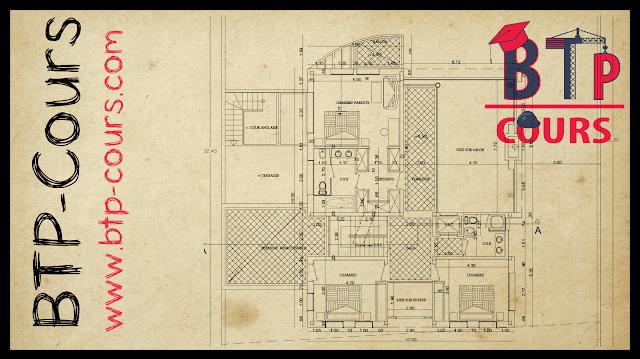 Plan architecture: Villa