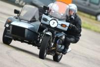 Moto Guzzi 1000SP Gespann im Rennen