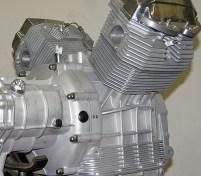 Moto Guzzi Motorblock ausgebaut