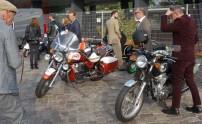 Schöne Mopeds, viele Guzzi`s