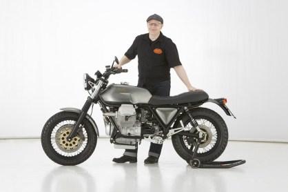Scrambler Motorraddesign by Doc Jensen