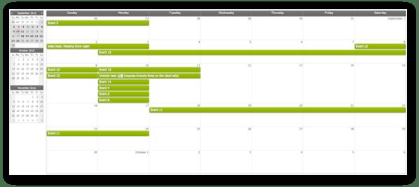 CSS - Monthly Event Calendar | DayPilot Documentation ...
