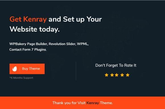 Kenray –Consulting Business WordPress Theme-01