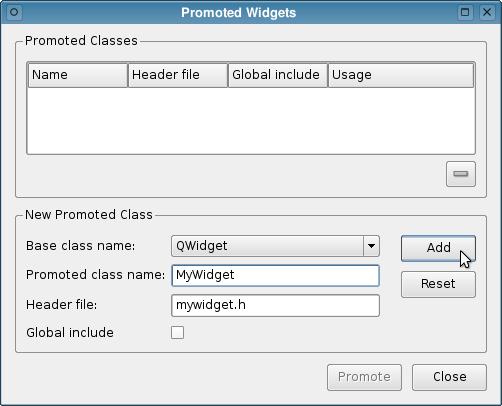 Using Custom Widgets with Qt Designer | Qt 4.8
