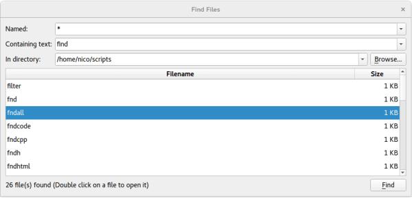 Find Files Example | Qt Widgets 5.13.2