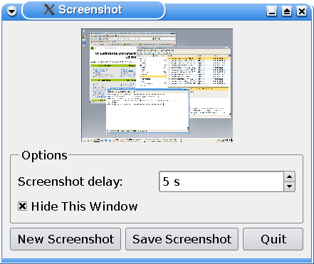 Screenshot Example | Qt Widgets 5.14.1