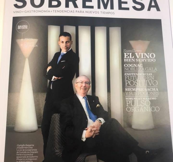 Reportaje en la revista Sobremesa de la DO Campo de Borja