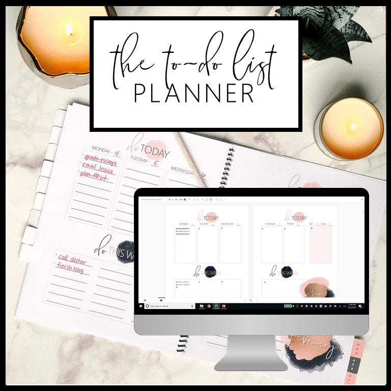If you're a busy teacher, the To-Do List Planner is for you! Learn tips and ideas to keep your classroom (and life) organized and improve your productivity with simple to-do lists. #teacherlife #organizedteacher