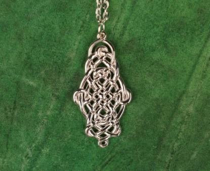 Raindrop Necklace Silver