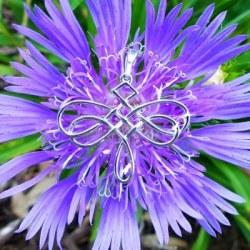 Celtic Knot Dragonfly Necklace