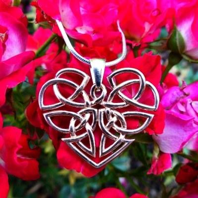Heart Celtic Knot Necklace