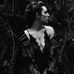 Shayna Rae Leaf Necklace, photo by Kathryn Herron
