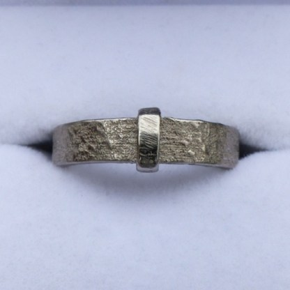 Nickel-plated steel Outlander Ring
