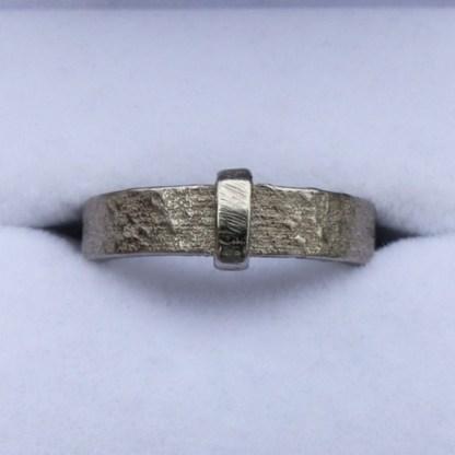 Nickel-plated steel Outlander Ring
