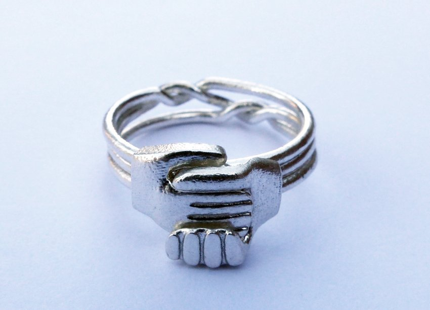 New! Gimmel Ring