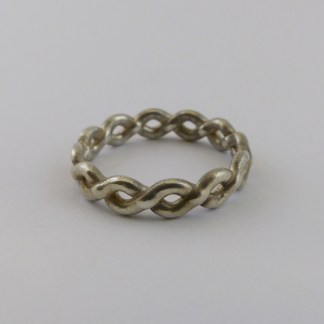Infinity Thumb Ring