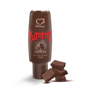 GEL TÉRMICO COMESTÍVEL YUMMY 15ML – SEXY FANTASY – Chocolate