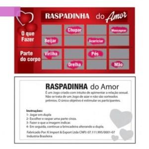 Raspadinha – do Amor – 1 UNIDADE
