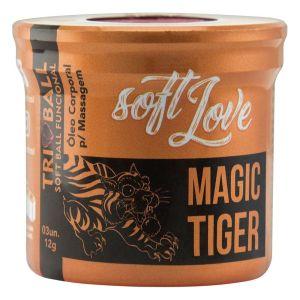 TRIBALL BOLINHA MAGIC TIGER 12G 03 UNIDADES SOFT LOVE