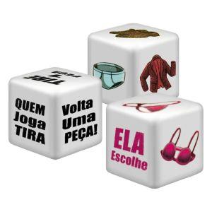 JOGO DO PRAZER STRIP TEASE DIVERSÃO AO CUBO