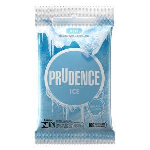 PRESERVATIVOS ICE 3 UNIDADES PRUDENCE